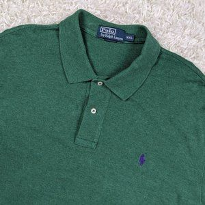 Ralph Lauren Polo Shirt Long Sleeve Men 2XL A31